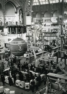 France Paris Salon des Arts Menagers Exhibit Grand Palais Old Photo 1960