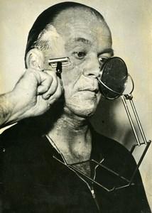 France Paris German Invention New Shaving Mirror Old Photo 1949