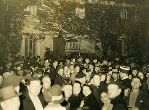 France Hospices de Beaune Lottery Loto draw at the Winery Old Photo 1937