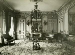 France Paris Hotel Particulier Rue de Presbourg Brunei Embassy Old Photo 1900