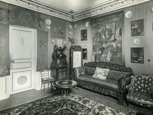 Paris Hotel Particulier Sitting Room Rue de Presbourg Brunei Embassy Photo 1900