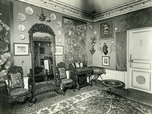 Paris Hotel Particulier Chinese Room Rue de Presbourg Brunei Embassy Photo 1900