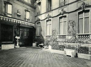 France Paris Hotel Particulier Rue de Presbourg Brunei Embassy 2 Old Photos 1900