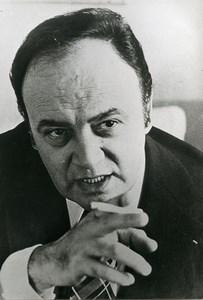 France Cinema Actor Raymond Pellegrin Old Photo 1970