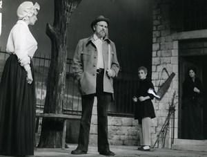 France Theater Poil de Carotte Jules Renard Old Photo Stirling 1970