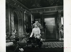 France Theater Galas Karsenty Paulet Old Photo Bernand 1970