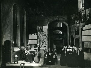 France Theater Gala Karsenty ? Old Photo Bernand 1970