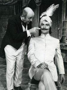 France Theater Bernard Blier le Faiseur of Balzac Old Photo 1972
