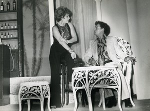 France Theater Tennessee Williams Marbaux Philippe Leotard Old Photo 1972