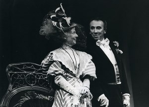 France Theater Actors Gala Karsenty ? Old Photo 1980