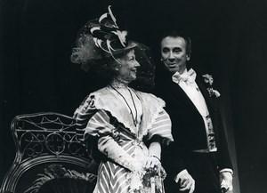 France Theater Actors Gala Karsenty ? Old Photo 1980