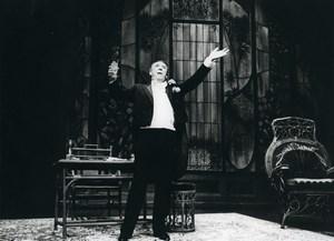 France Theater Actor Gala Karsenty ? Old Photo 1980