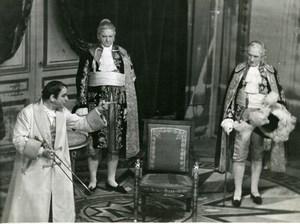 Netherlands Theater Napoleon Henri Rollan Old Photo Polygoon 1938
