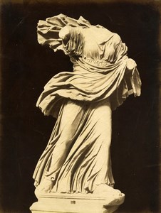 Italy Museum Antiquity Roman Sculpture Niobe Old Photo 1880