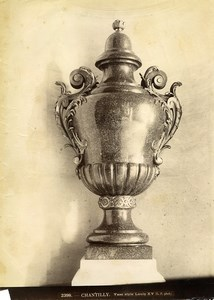 France Chantilly Sculpture Vase period Louis XV Old Photo LP 1870