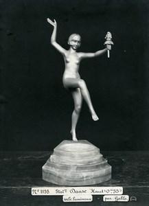 France Paris Art Deco Atelier Cadran création de Gallo Danse Ancienne Photo 1930