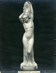 France Paris Art Deco Atelier Cadran création de Trinque Le Matin Ancienne Photo 1930