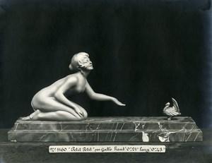 France Paris Art Deco Atelier Cadran création de Gallo Petit Petit Ancienne Photo 1930