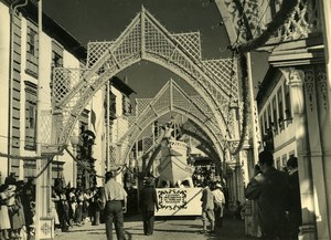 Portugal Viana do Castelo Carnival Corso Carnaval Parade Old Photo Azevedo 1950