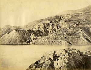 United Kingdom Wales ? Mining Landscape Reservoir Old Photo Francis Frith 1875