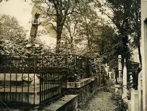 France Paris Cemetery St Germain de Charonne Magloire Robespierre Old Photo 1935