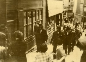France Lyon Montée du Gourguillon Murder of Maria Corigliano Old Photo 1936