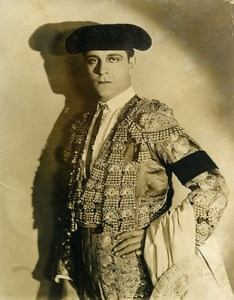American Film Actor Ricardo Cortez Cinema Old Photo 1930