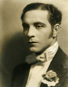 American Film Actor Ricardo Cortez Cinema Old Photo 1925