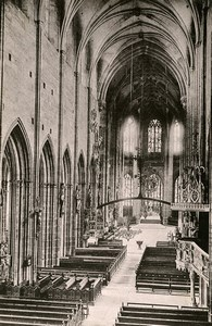 Germany Nurnberg Church St Lorenzkirche Interior Old Cabinte Photo Rommler 1890