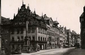 Germany Nurnberg Adlerstrasse old Cabinet Photo Rommler 1890