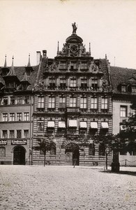 Germany Nurnberg Peller Haus House Old Cabinet Photo Rommler 1890