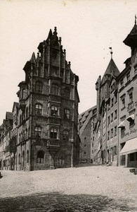 Germany Nurnberg Toppler Haus House Old Cabinet Photo Rommler 1890