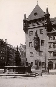 Germany Nurnberg Nassauer Haus House Old Cabinet Photo Rommler 1890