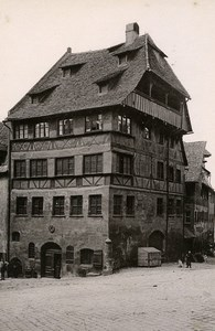 Germany Nurnberg Albrecht Durer Haus House Old CC Photo Rommler 1890