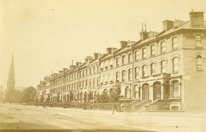 United Kingdom Islington Street Church Old Cabinet Photo Storey 1880