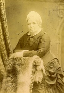 United Kingdom London Portrait Woman Old Cabinet Photo Negretti & Zambra 1880