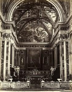 Italy Naples Napoli Certosa di San Martino Monastery Albumen Photo Sommer 1880