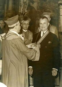 France Clos Vougeot Jefferson Caffery Camille Rodier Tastevin Wine Photo 1947