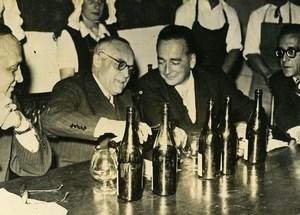France Hospice de Beaune Baron Guillaume Belgium Ambassador Old Photo 1947