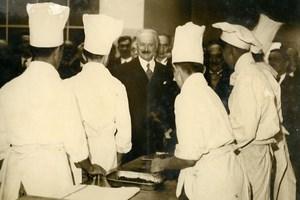 France Paris President Lebrun Ecole de Hotellerie School Chef Helpers Photo 1936