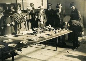 France Paris Museum Mushroom Exposition Amanita Old LAPI Photo 1940