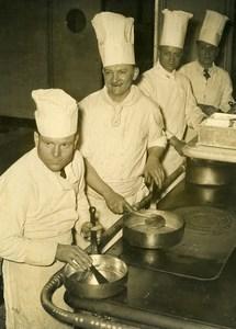 France Paris Best Cook Contest Guyet Vierstein André & Pons Old Photo 1948