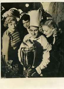 France Paris Cooking Prize Chef Gastronomy Old Photo 1960