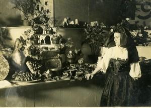 France Paris Gastronomy Fair Regional Produces from Alsace Old Photo 1930