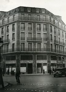 France Paris Communist Party Headquarters Carrefour Chateaudun Old Photo 1938