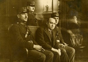 Hungary Budapest Trial of Communist Mathias Rakossy Old Photo 1935