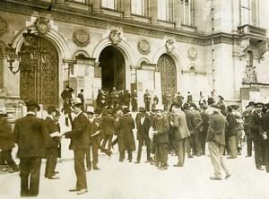 France Paris Political Municipal Elections Voters Old Photo 1910's