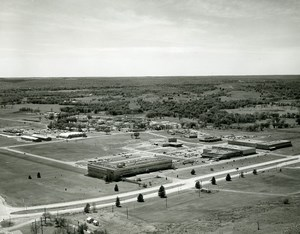 USA Bartlesville Phillips Petroleum Company Research Center Old Photo 1967