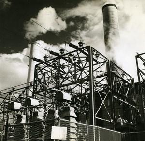 Peru Perou Oroya Copper Industry Cuivre Old Photo Grace Line 1960