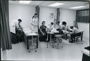 Philadelphia Hospital Emergency Room Old Inquirer Photo Edward Freeman 1970